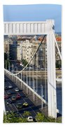 City Of Budapest In Hungary Hand Towel