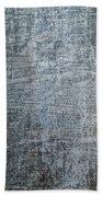 Close-up Of A Metal Wall Surface Bath Towel