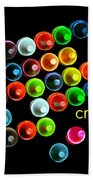 Colorful Wonderful Crayons Bath Towel