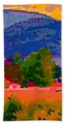 Cowichan Bay From Doman's Road Hand Towel
