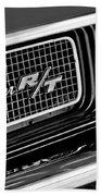 Dodge Challenger Rt Grille Emblem Hand Towel