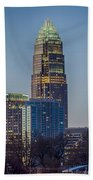 Early Morning In Charlotte Nc Hand Towel