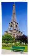Eiffel Tower Bath Towel