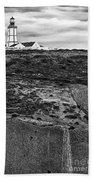 Espichel Cape Lighthouse Bath Towel