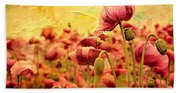 Field Of Poppies Hand Towel