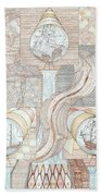 Fortune Of Ships Bath Towel