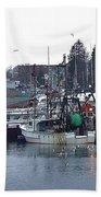 Gloucester Fishing Boats Bath Towel