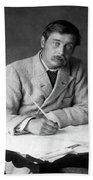 Herbert George Wells (1866-1946) Hand Towel