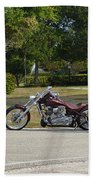 Hogs And Choppers Bath Towel