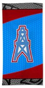 Houston Oilers Bath Towel