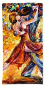 In The Rhythm Of Tango Bath Towel