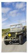 Jeep Willys Bath Towel