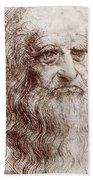 Leonardo Da Vinci (1452-1519) Bath Towel