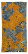 Lichened Rocks Bath Towel