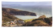Lulworth Cove Bath Towel