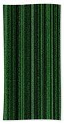 Matrix Green Bath Towel
