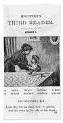 Mcguffey's Reader, 1879 Bath Towel