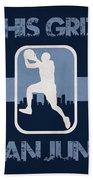 Memphis Grizzlies Bath Towel