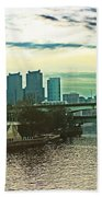 Philadelphia Skyline Bath Towel