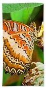 Plain Tiger Butterfly Bath Towel