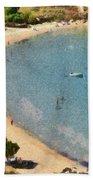 Psili Ammos Beach In Serifos Island Bath Towel