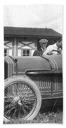 Race Car, 1914 Hand Towel