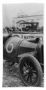 Racecar Drivers, C1913 Hand Towel