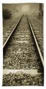 Railway Tracks Bath Towel
