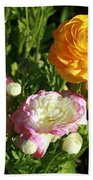 Ranunculus 1 Bath Towel
