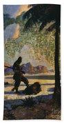 Robinson Crusoe, 1920 Bath Towel