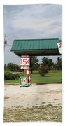 Route 66 - Paris Springs Missouri Bath Towel