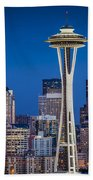 Seattle Skyline Bath Towel