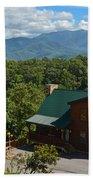 Smoky Mountain Cabins Bath Towel
