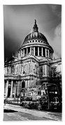 St Pauls Cathedral London Art Hand Towel