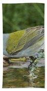 Tennessee Warbler Bath Towel
