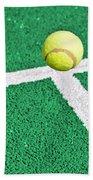 Tennis Ball Bath Towel