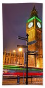 The Big Ben - London Bath Towel