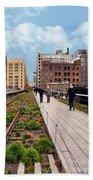 The High Line Urban Park New York Citiy Bath Towel