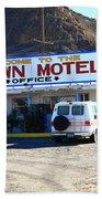 Tonopah Nevada - Clown Motel Bath Towel