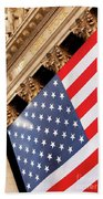 Wall Street Flag Bath Towel