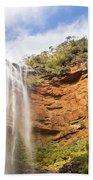 Wentworth Falls Blue Mountains Bath Towel