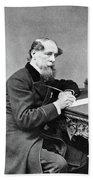 Charles Dickens (1812-1870) Bath Towel