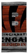Cincinnati Bengals Bath Towel by Joe Hamilton