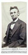 Abraham Lincoln (1809-1865) Hand Towel