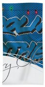 Carolina Panthers Bath Towel