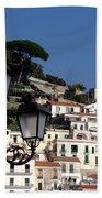 Views From The Amalfi Coast In Italy Bath Towel