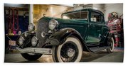 '33 Plymouth Hand Towel
