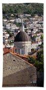 Views Of Dubrovnik Croatia Bath Towel