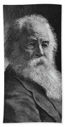 Walt Whitman (1819-1892) Hand Towel