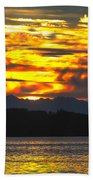 333 Marine Sunrise Bath Towel